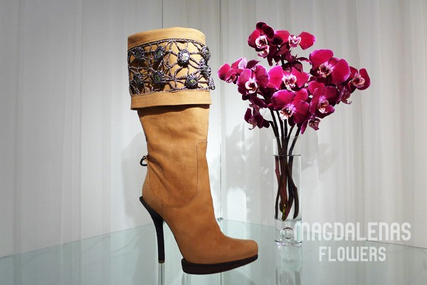 Boot & Orchid